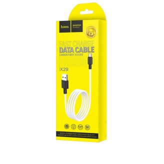 HOCO X29 SUPERIOR STYLE CHARGING DATA CABLE FOR TYPE-C ΑΣΠΡΟ